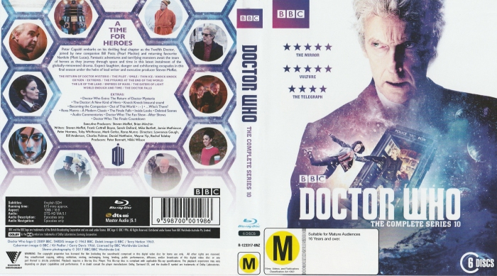 Doctor Who The Complete Series 10 A