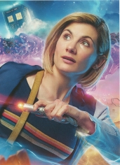 Doctor Who The Complete Eleventh Series Art Cards - The Doctor